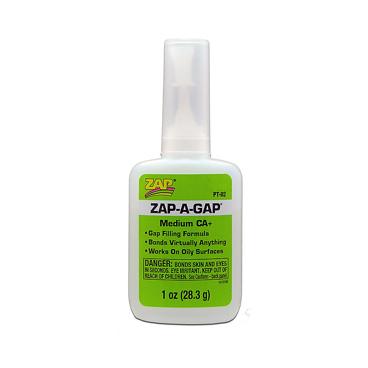 ZAP-A-GAP Medium CA Glue, 1 oz