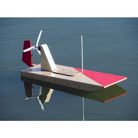 WaterBoard! Electric RC Airboat Kit | Stevens AeroModel