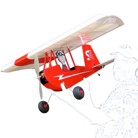 FREDe 1.5X ToonScale Slow Flyer - FREDe 1.5X ToonScale Slow Flyer Stevens Aeromodel, LLC