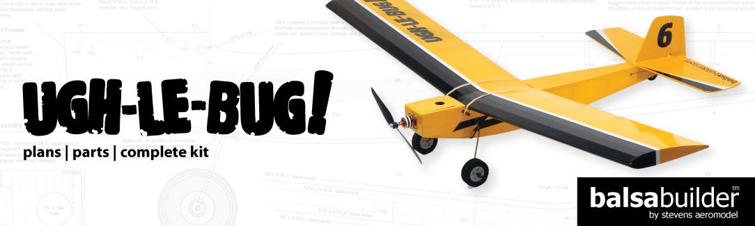 Laser-Cut Model Airplane Kits | Stevens AeroModel